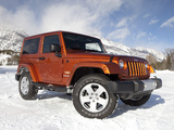 Jeep Wrangler Sahara (JK) 2007 pictures