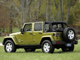 Jeep Wrangler Unlimited Sahara EU-spec (JK) 2007 pictures