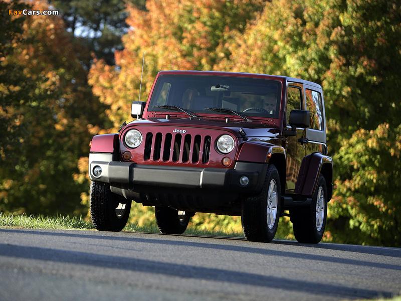 Jeep Wrangler Sahara (JK) 2007 pictures (800 x 600)