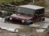 Jeep Wrangler Unlimited Sahara UK-spec (JK) 2007–11 pictures