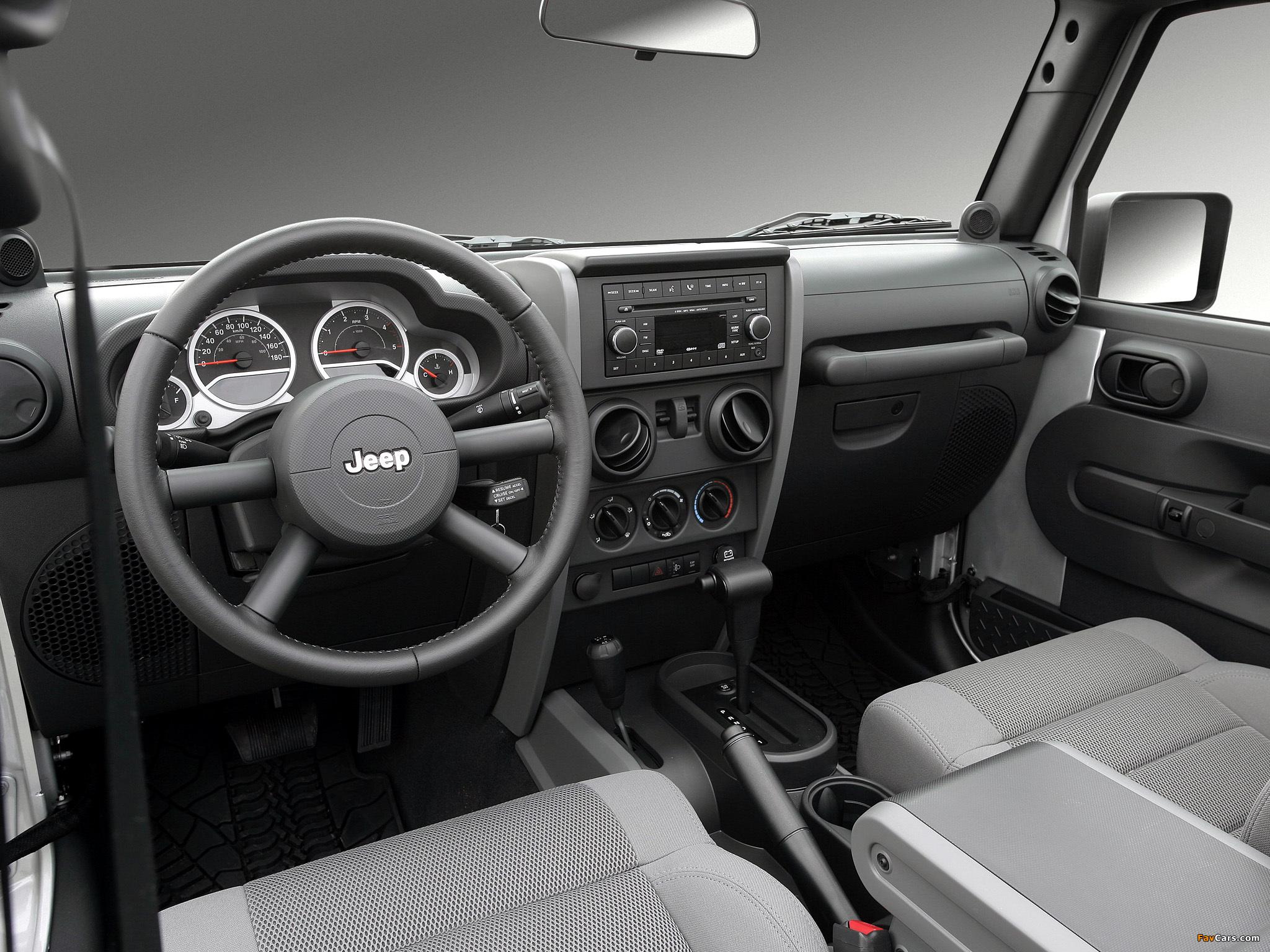 Jeep Wrangler Unlimited Sahara EU-spec (JK) 2007 pictures (2048 x 1536)