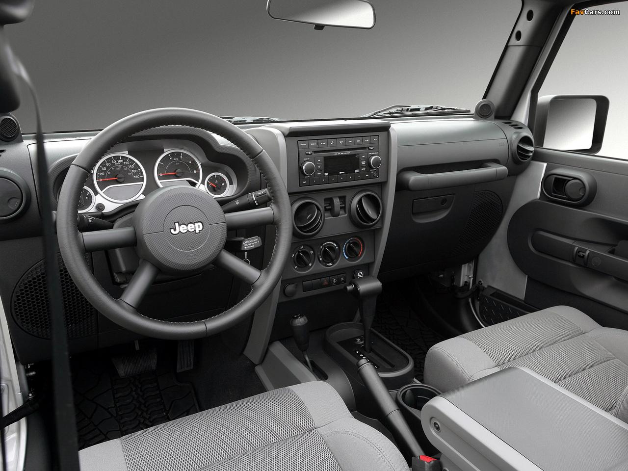 Jeep Wrangler Unlimited Sahara EU-spec (JK) 2007 pictures (1280 x 960)