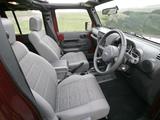 Jeep Wrangler Unlimited Sahara UK-spec (JK) 2007–11 wallpapers