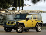 Jeep Wrangler Unlimited Rubicon EU-spec (JK) 2007 wallpapers