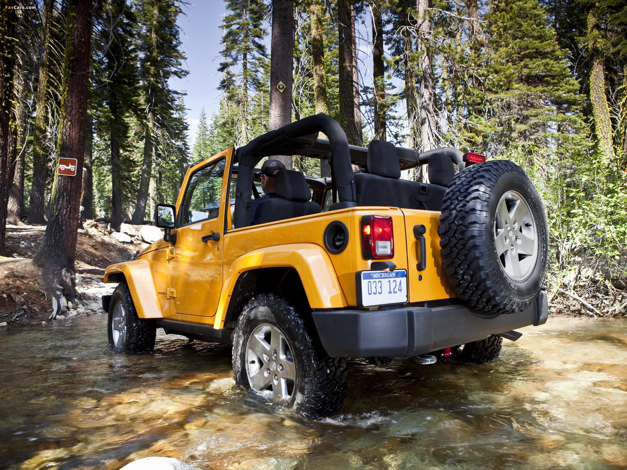 Jeep Wrangler Rubicon (JK) 2010 photos (2048 x 1536)