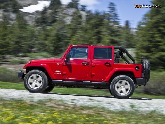 Jeep Wrangler Unlimited Sahara (JK) 2010 pictures (640 x 480)
