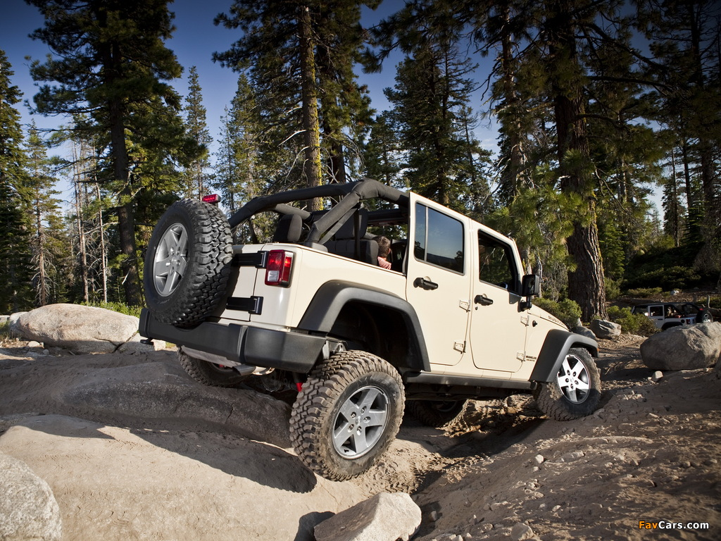 Jeep Wrangler Unlimited Rubicon (JK) 2010 pictures (1024 x 768)