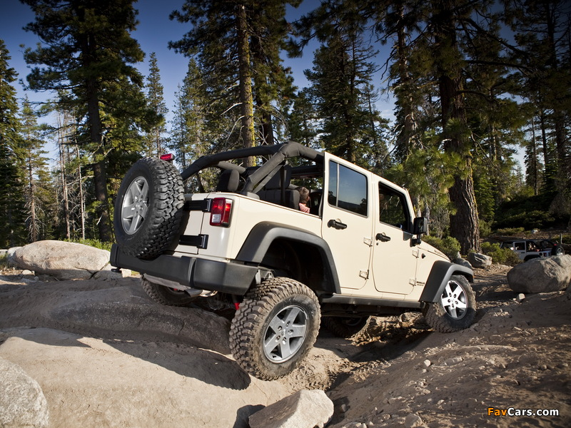 Jeep Wrangler Unlimited Rubicon (JK) 2010 pictures (800 x 600)