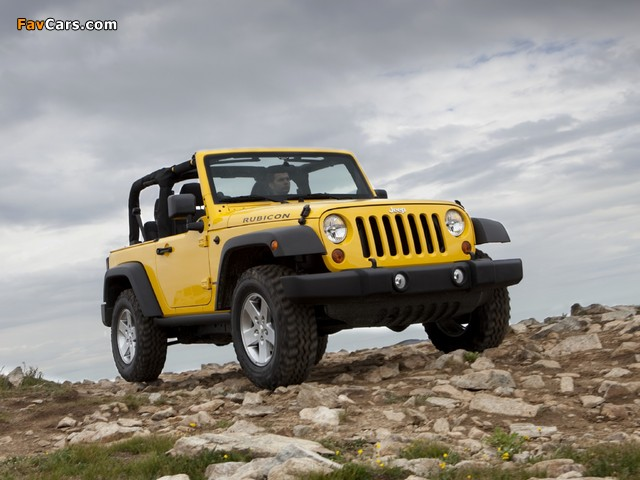 Jeep Wrangler Rubicon (JK) 2010 wallpapers (640 x 480)