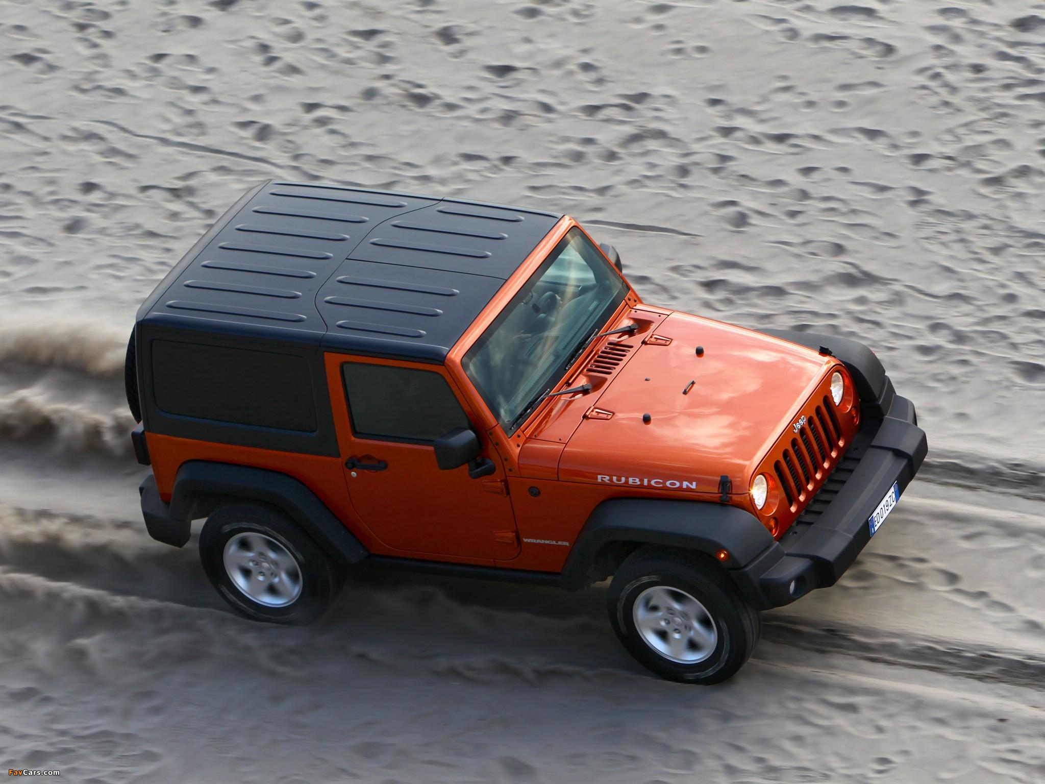 Jeep Wrangler Rubicon EU-spec (JK) 2011 photos (2048 x 1536)