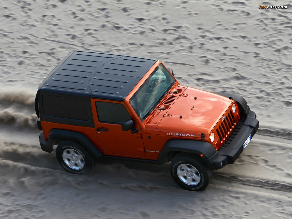 Jeep Wrangler Rubicon EU-spec (JK) 2011 photos (1024 x 768)