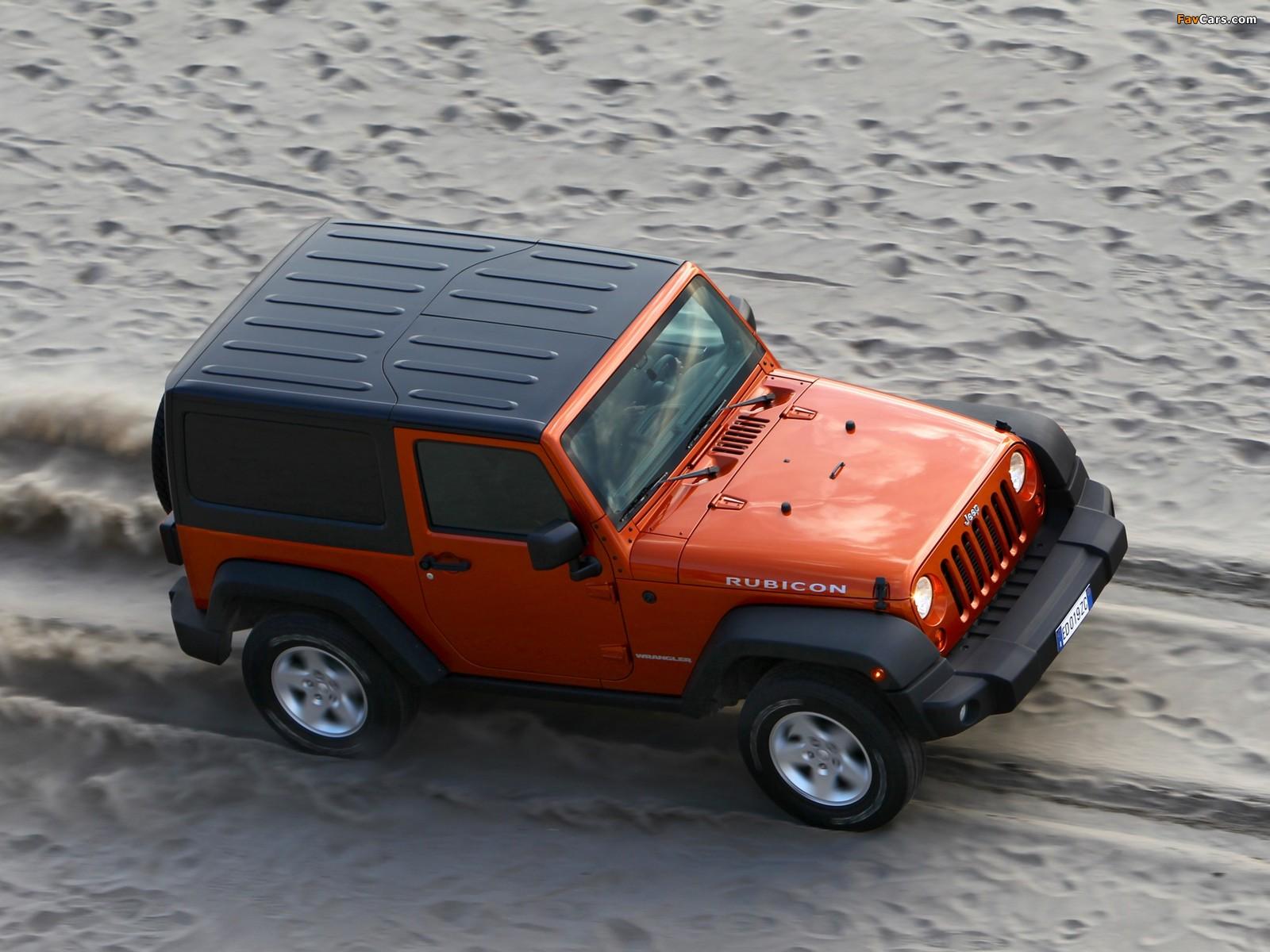 Jeep Wrangler Rubicon EU-spec (JK) 2011 photos (1600 x 1200)