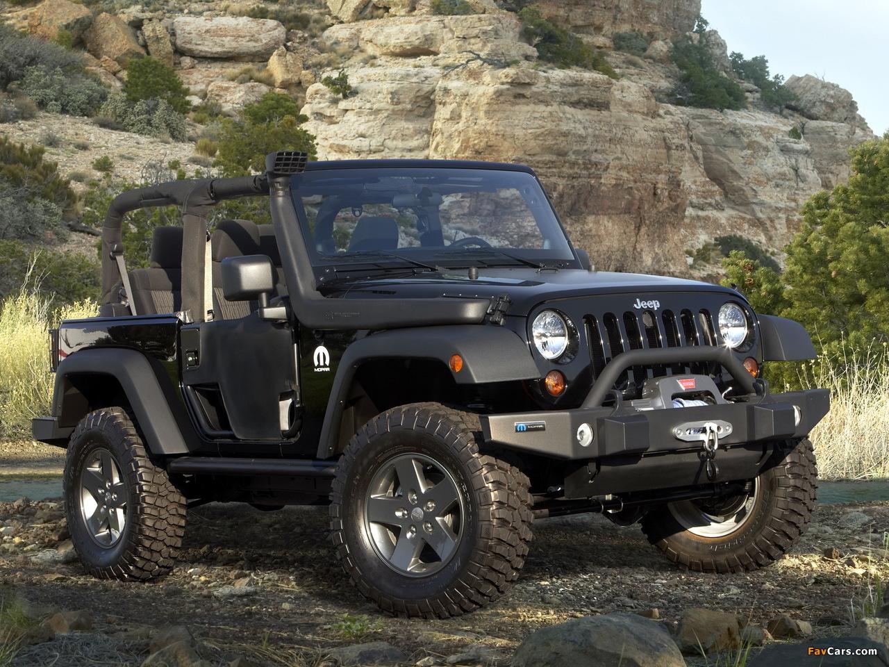 Mopar Jeep Wrangler (JK) 2011 photos (1280 x 960)