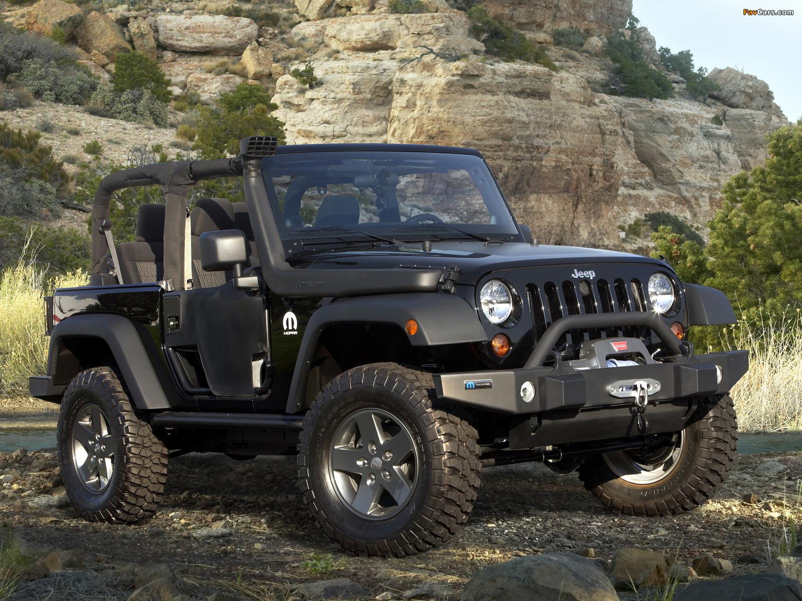 Mopar Jeep Wrangler (JK) 2011 photos (1600 x 1200)
