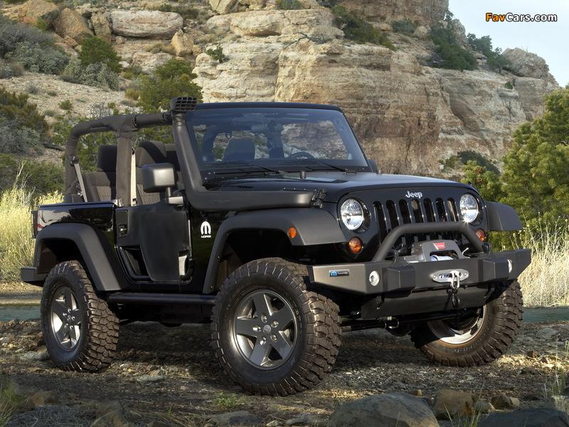 Mopar Jeep Wrangler (JK) 2011 photos (800 x 600)
