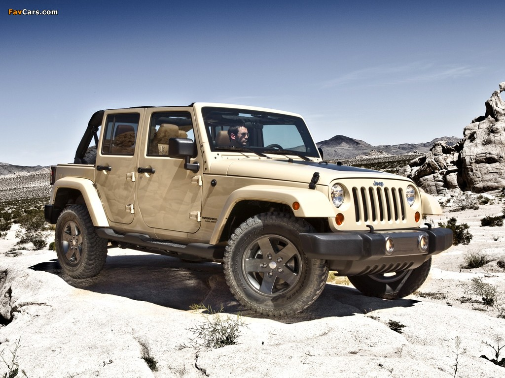 Jeep Wrangler Unlimited Mojave (JK) 2011 photos (1024 x 768)