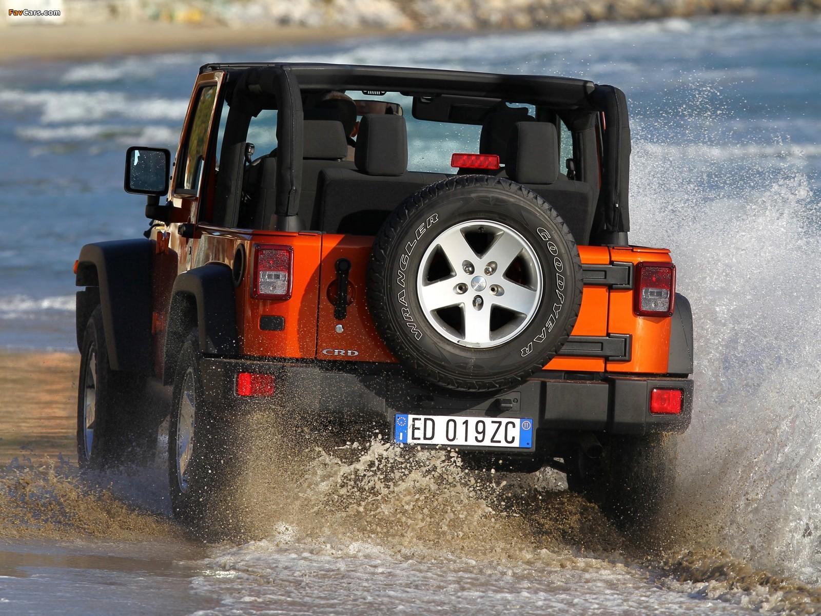 Jeep Wrangler Rubicon EU-spec (JK) 2011 pictures (1600 x 1200)