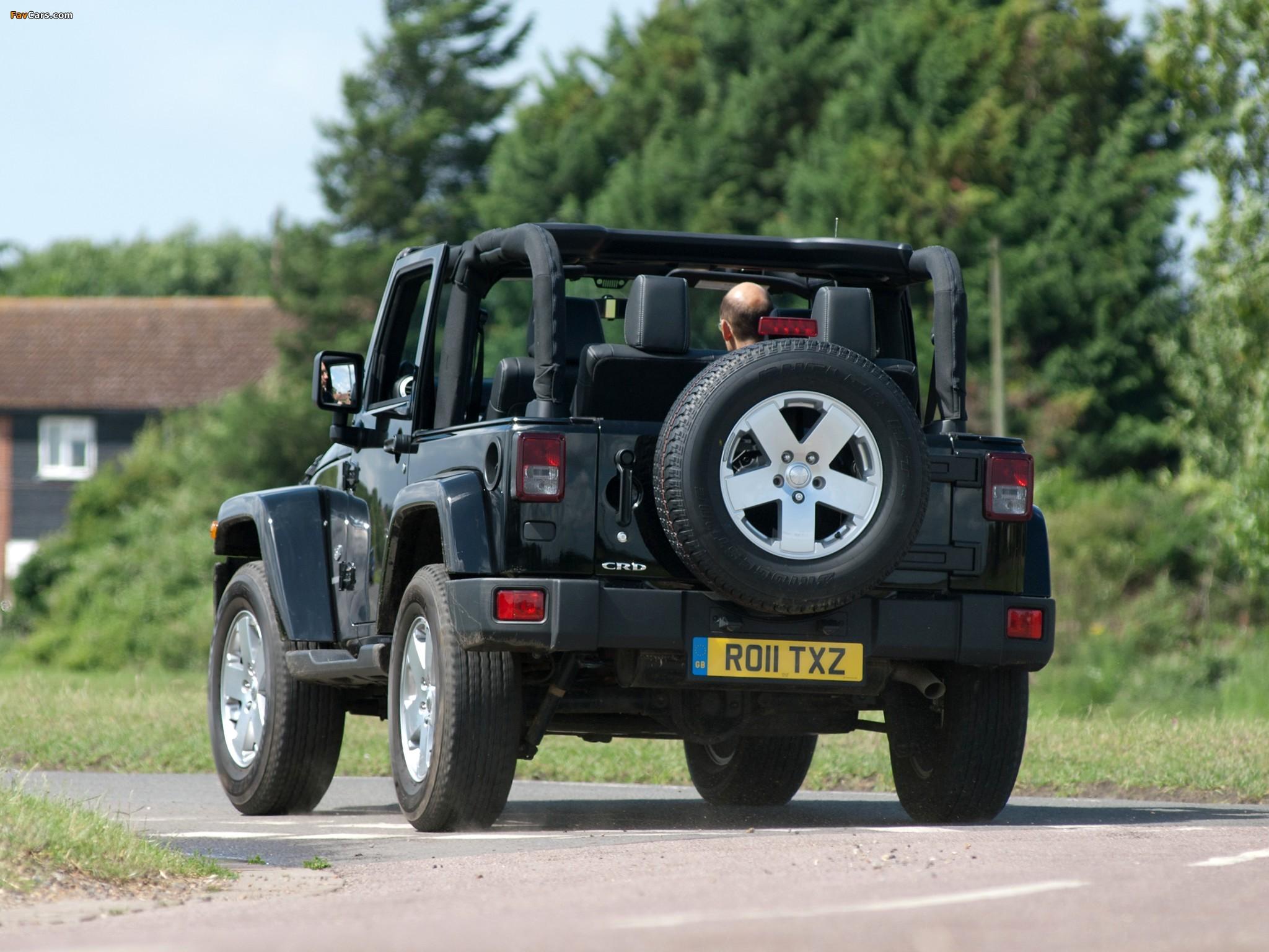 Jeep Wrangler 70th Anniversary UK-spec (JK) 2011 pictures (2048 x 1536)