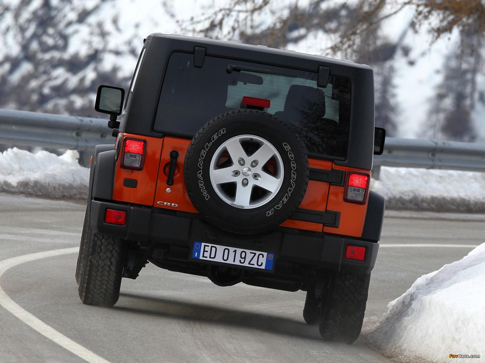 Jeep Wrangler Rubicon EU-spec (JK) 2011 wallpapers (1600 x 1200)