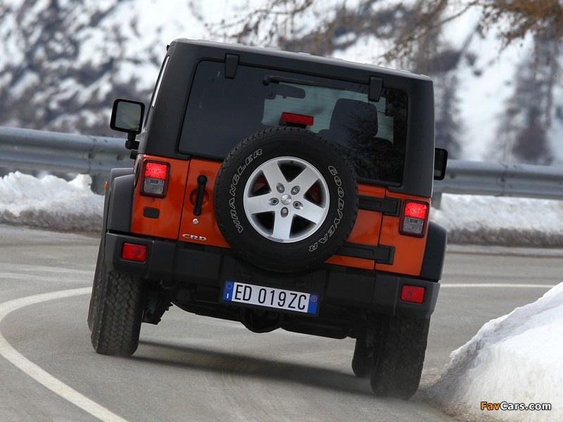 Jeep Wrangler Rubicon EU-spec (JK) 2011 wallpapers (800 x 600)