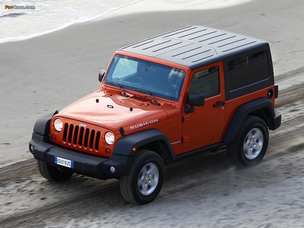 Jeep Wrangler Rubicon EU-spec (JK) 2011 wallpapers (1024 x 768)