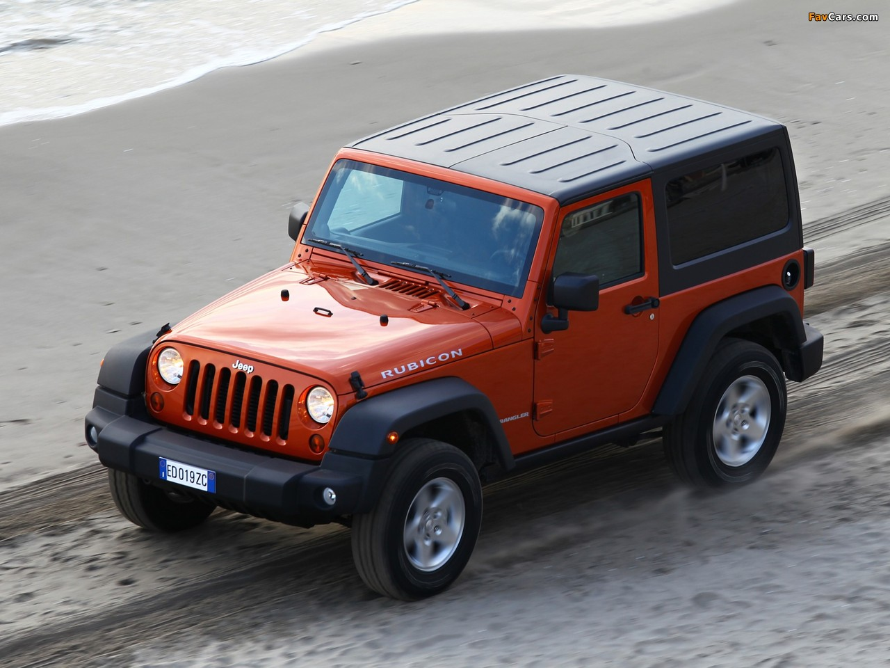 Jeep Wrangler Rubicon EU-spec (JK) 2011 wallpapers (1280 x 960)