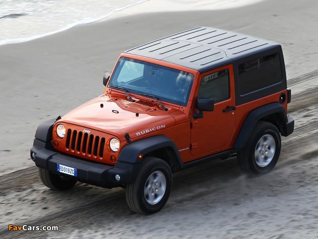Jeep Wrangler Rubicon EU-spec (JK) 2011 wallpapers (640 x 480)