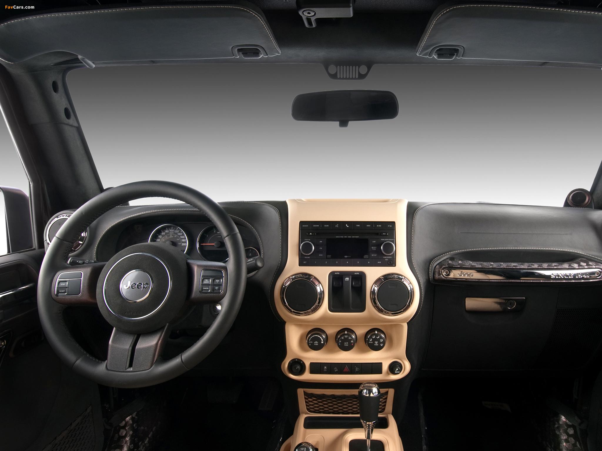 Vilner Studio Jeep Wrangler (JK) 2012 images (2048 x 1536)