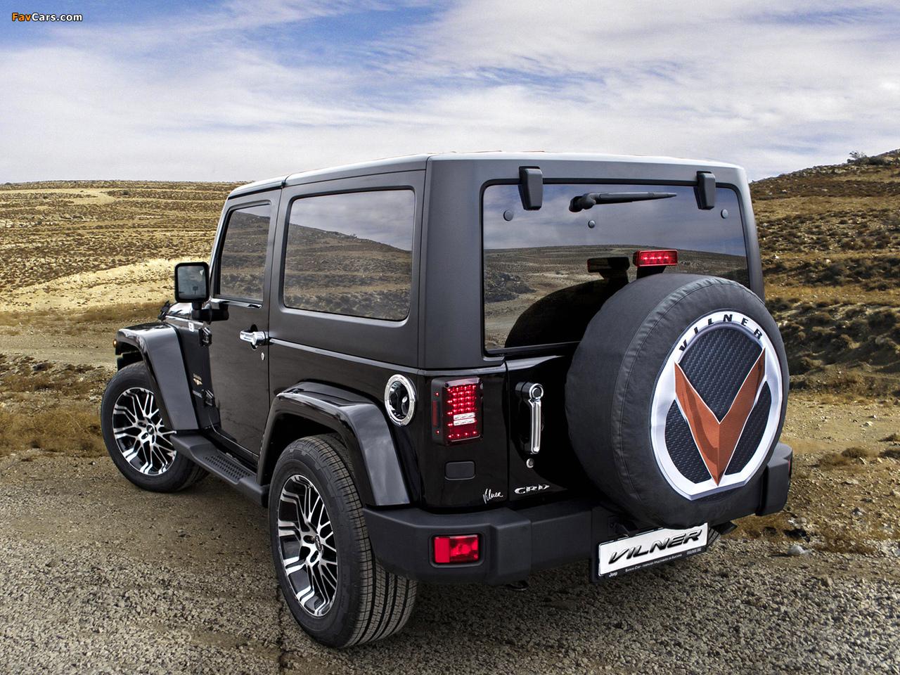 Vilner Studio Jeep Wrangler (JK) 2012 images (1280 x 960)