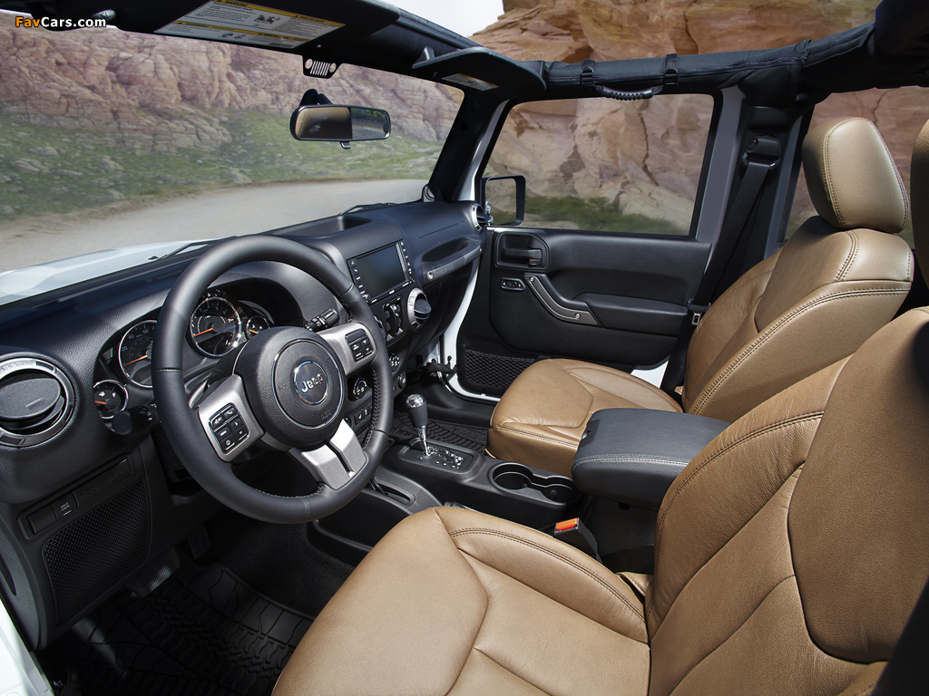 Jeep Wrangler Unlimited Moab (JK) 2012 photos (1024 x 768)