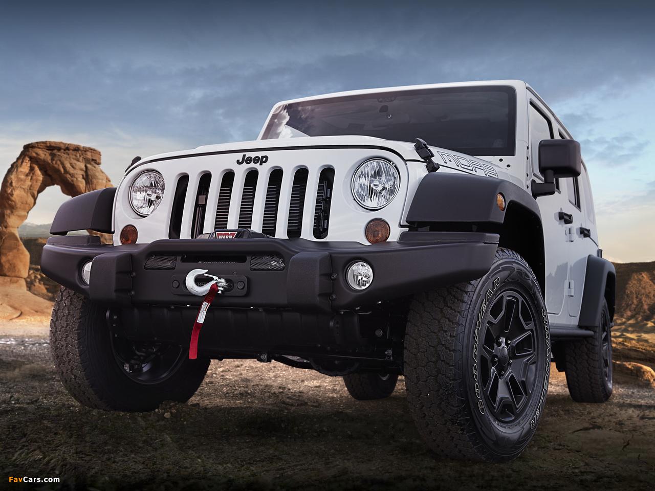 Jeep Wrangler Unlimited Moab (JK) 2012 photos (1280 x 960)
