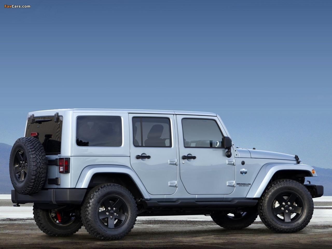 Jeep Wrangler Unlimited Arctic (JK) 2012 photos (1280 x 960)