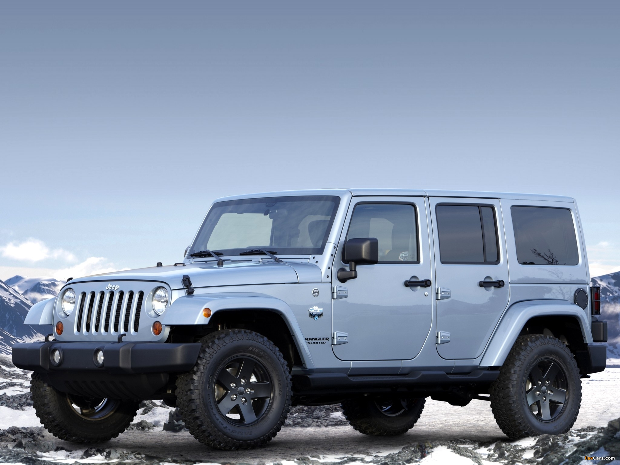 Jeep Wrangler Unlimited Arctic (JK) 2012 photos (2048 x 1536)