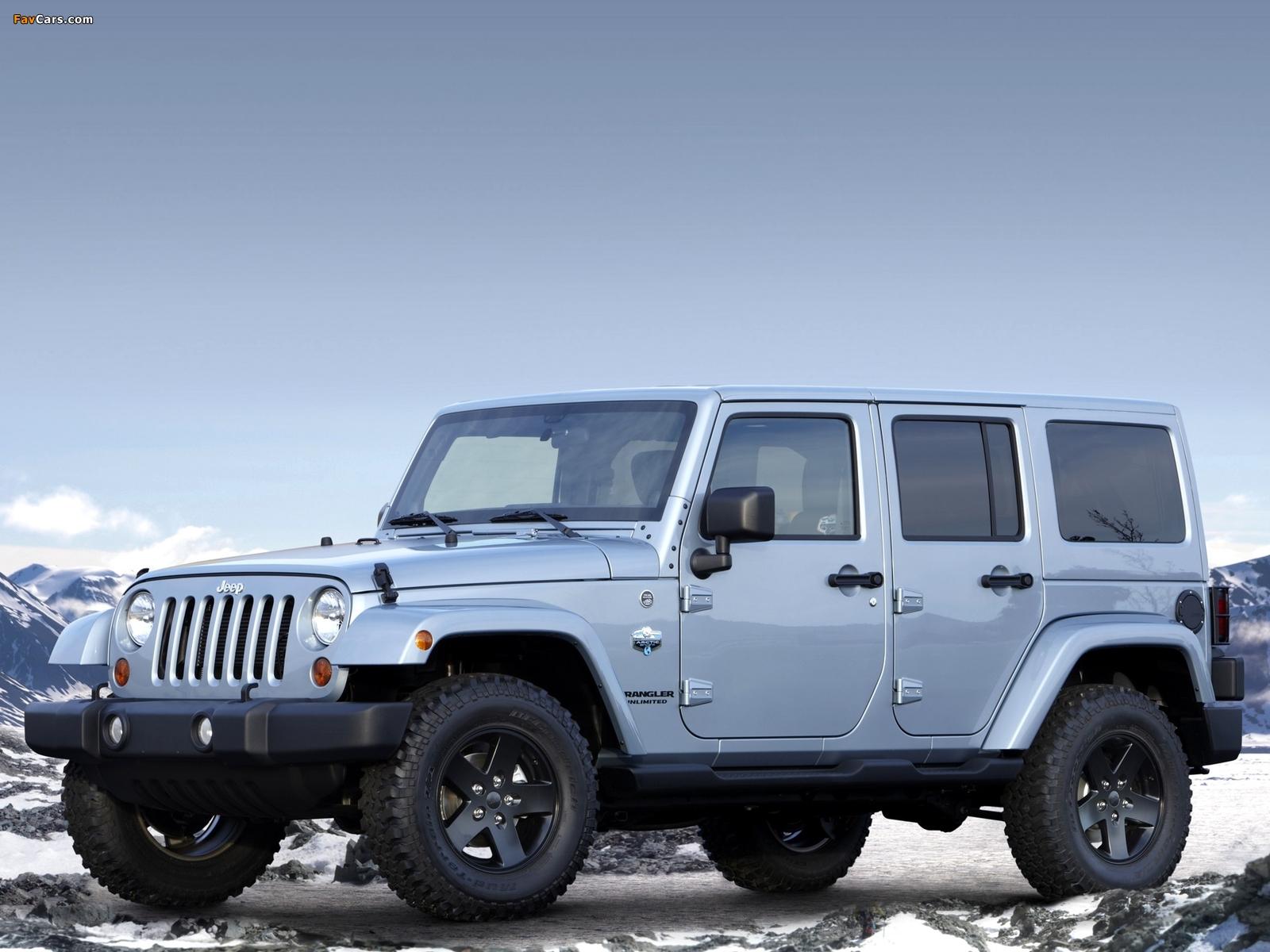 Jeep Wrangler Unlimited Arctic (JK) 2012 photos (1600 x 1200)