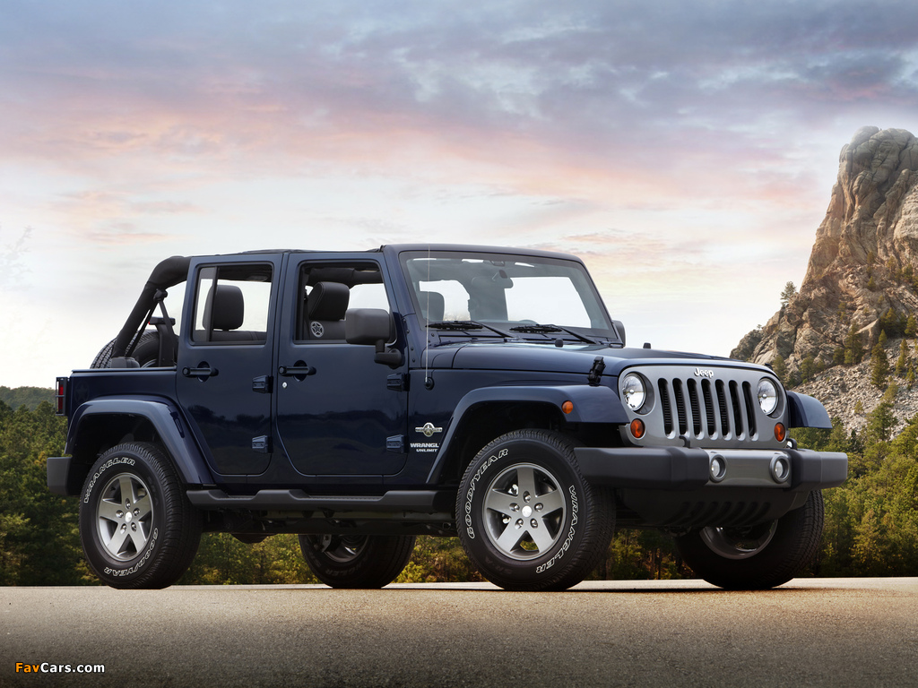 Jeep Wrangler Unlimited Freedom (JK) 2012 pictures (1024 x 768)