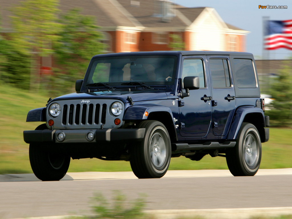 Jeep Wrangler Unlimited Freedom (JK) 2012 wallpapers (1024 x 768)
