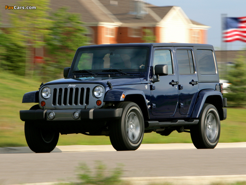 Jeep Wrangler Unlimited Freedom (JK) 2012 wallpapers (800 x 600)