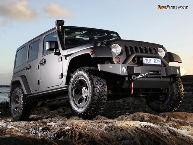 Jeep Wrangler Unlimited Sport AU-spec (JK) 2012 wallpapers (640 x 480)