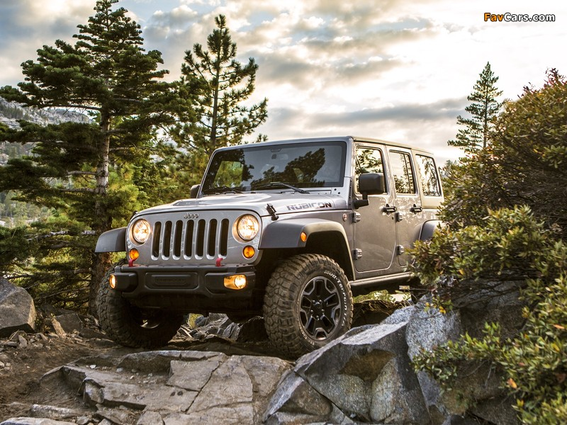Jeep Wrangler Unlimited Rubicon 10th Anniversary (JK) 2013 images (800 x 600)
