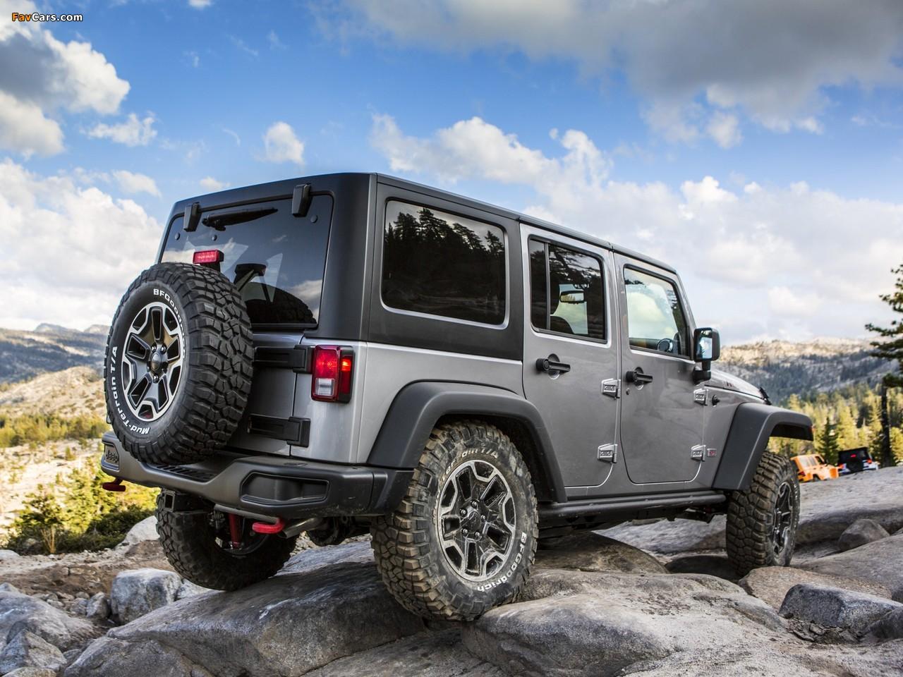 Jeep Wrangler Unlimited Rubicon 10th Anniversary (JK) 2013 photos (1280 x 960)