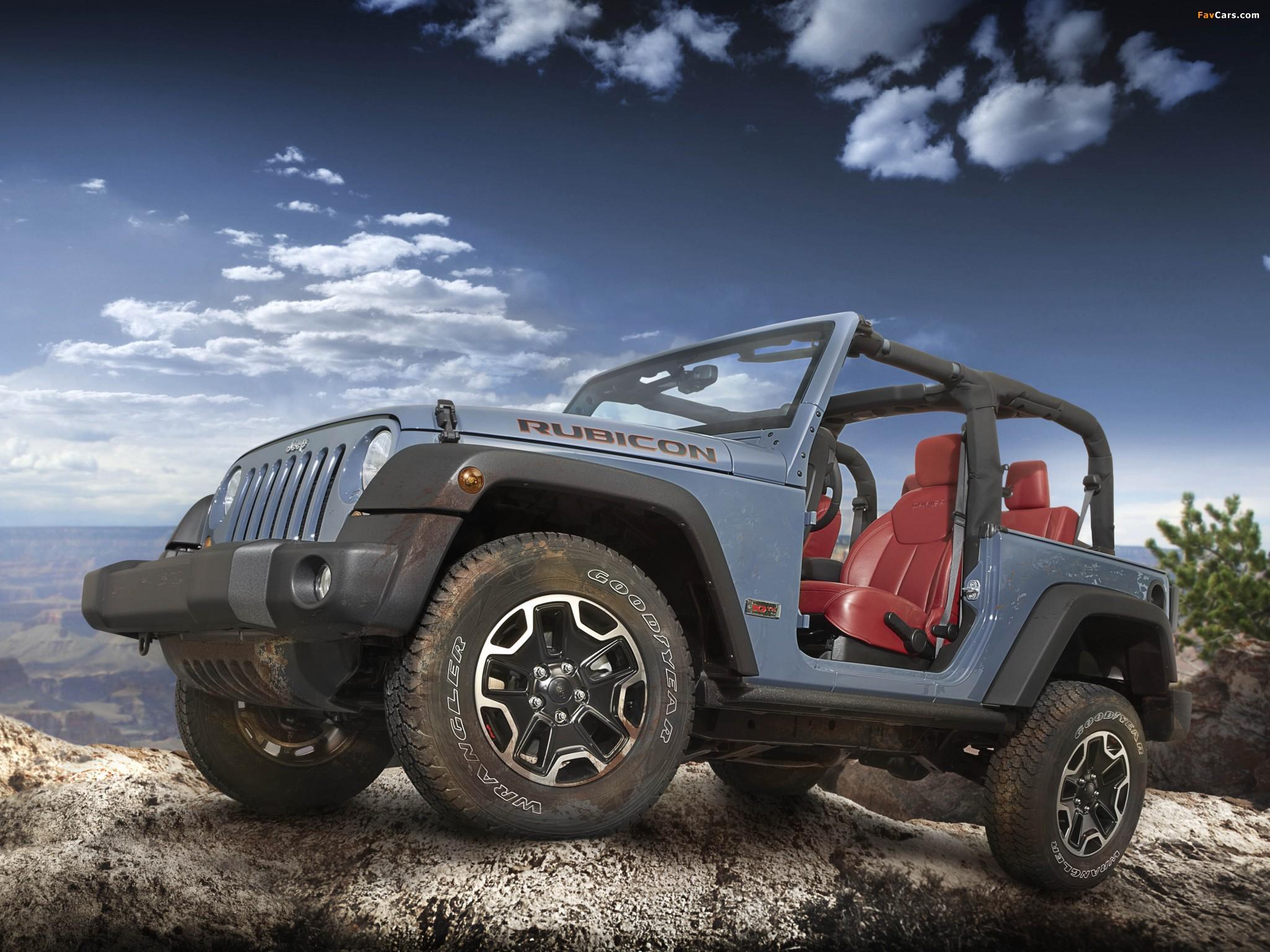 Jeep Wrangler Rubicon 10th Anniversary EU-spec (JK) 2013 photos (2048 x 1536)