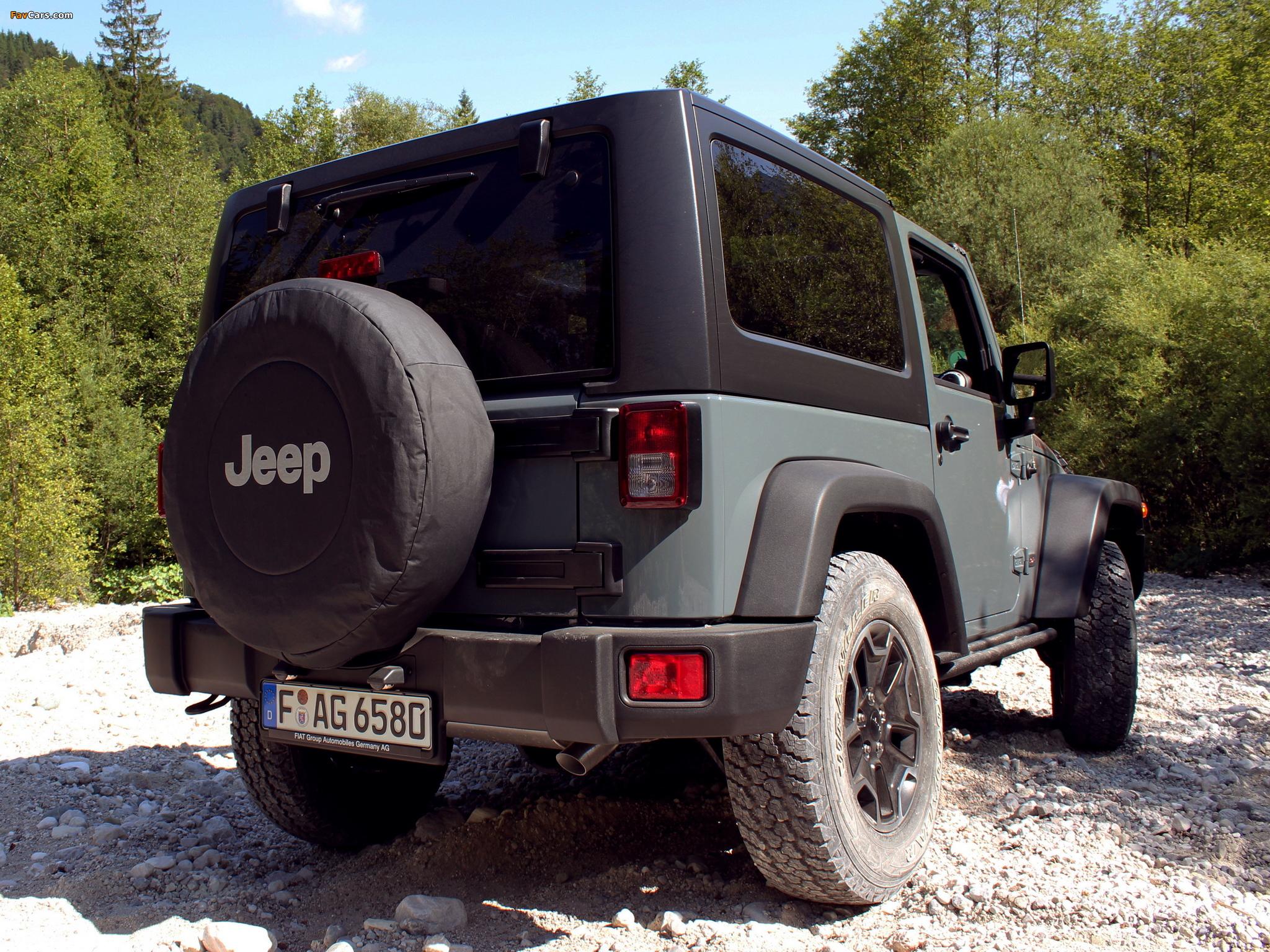 Jeep Wrangler Rubicon 10th Anniversary EU-spec (JK) 2013 pictures (2048 x 1536)