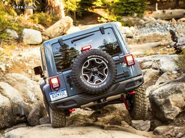 Jeep Wrangler Unlimited Rubicon 10th Anniversary (JK) 2013 wallpapers (640 x 480)