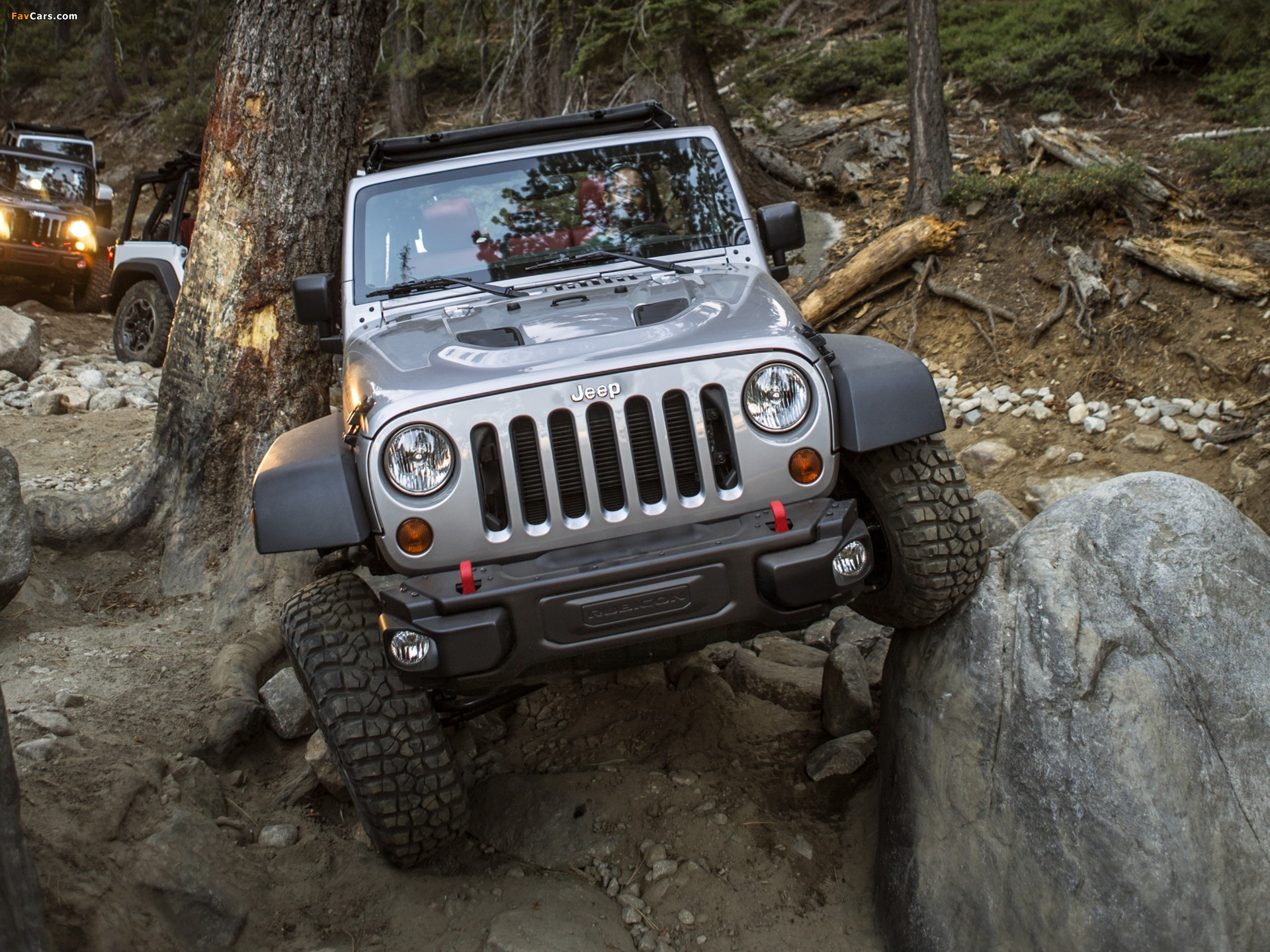 Jeep Wrangler Unlimited Rubicon 10th Anniversary (JK) 2013 wallpapers (1920 x 1440)