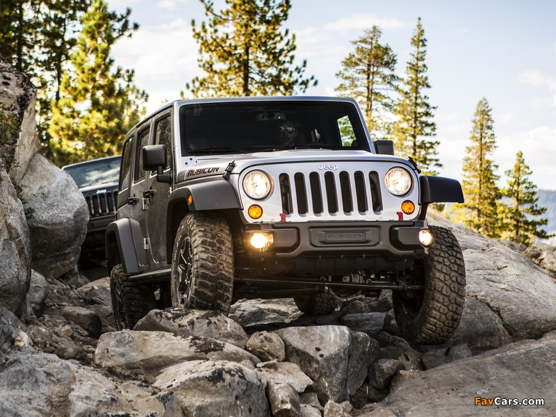 Jeep Wrangler Unlimited Rubicon 10th Anniversary (JK) 2013 wallpapers (800 x 600)