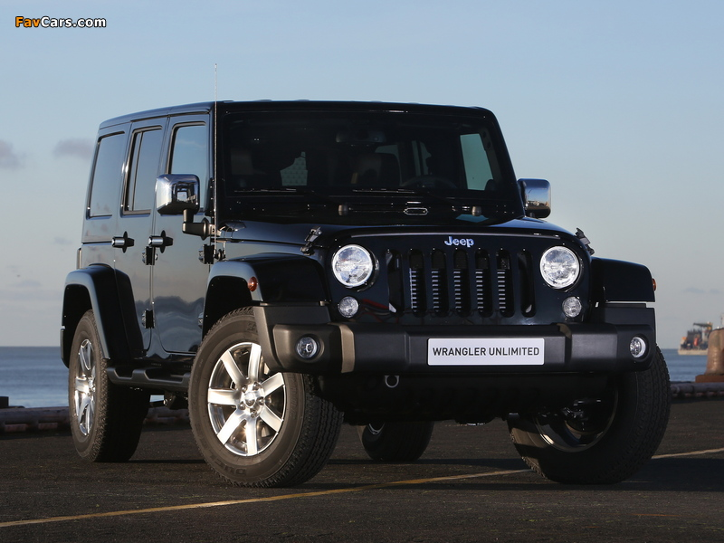 Jeep Wrangler Unlimited Indian Summer (JK) 2014 photos (800 x 600)