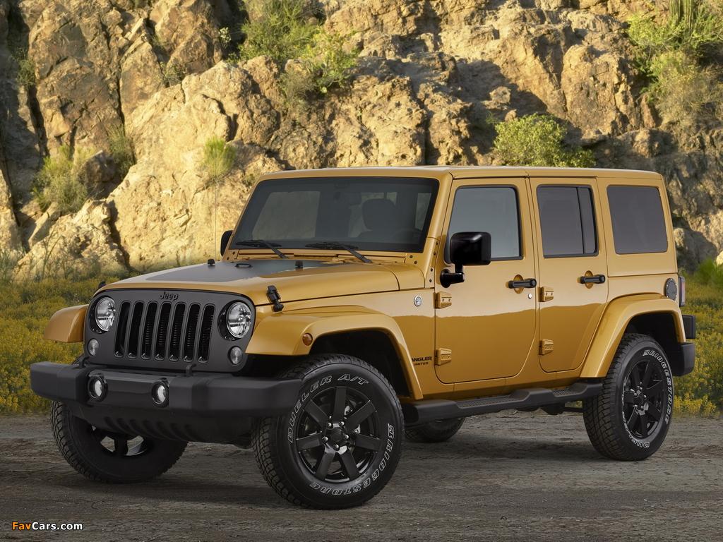 Jeep Wrangler Unlimited Altitude (JK) 2014 photos (1024 x 768)