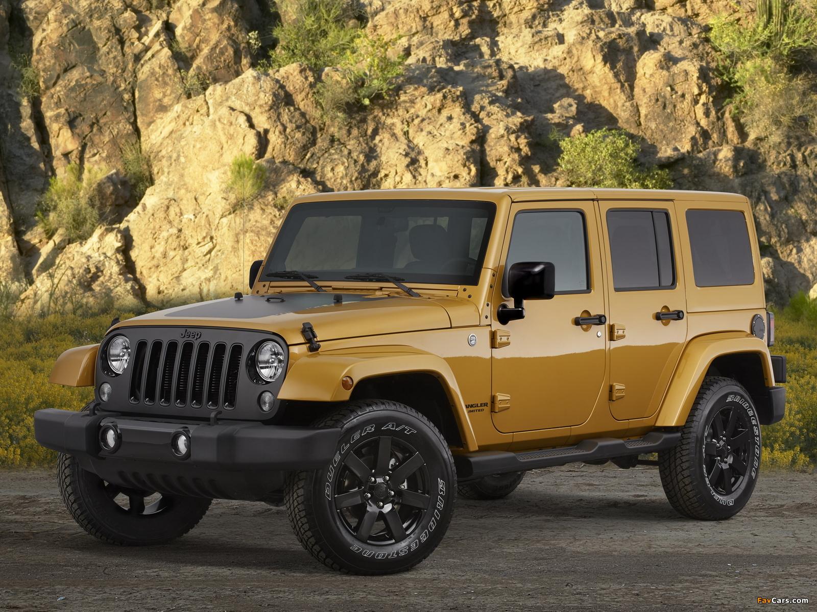 Jeep Wrangler Unlimited Altitude (JK) 2014 photos (1600 x 1200)