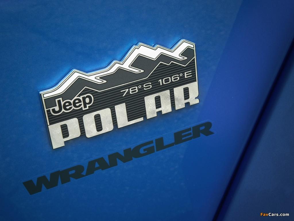 Jeep Wrangler Unlimited Polar (JK) 2014 wallpapers (1024 x 768)