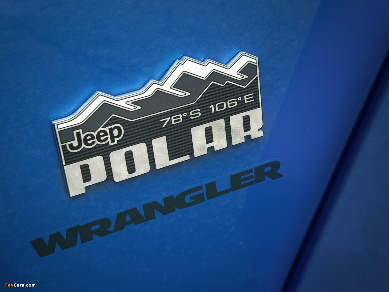 Jeep Wrangler Unlimited Polar (JK) 2014 wallpapers (1280 x 960)
